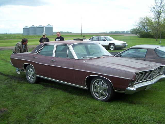 1968 Ford LTD, The first time I saw her., exterior