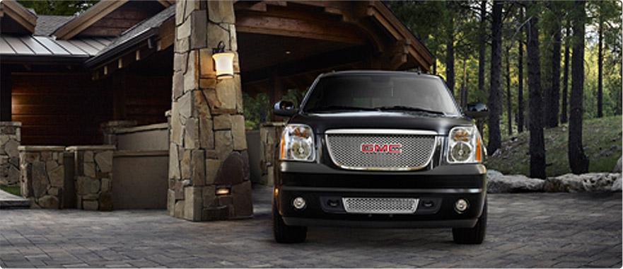 2012 GMC Yukon Denali, exterior front full view, exterior, manufacturer