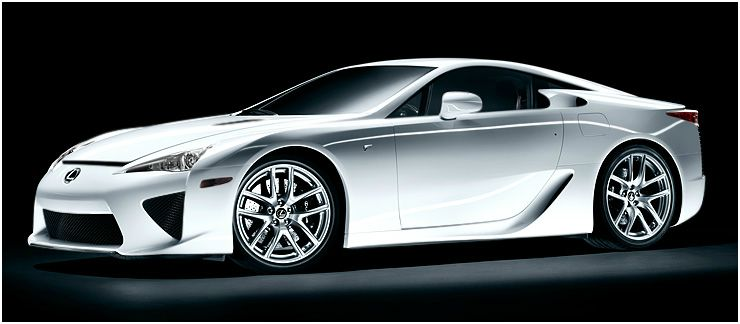 2012 Lexus IS F, Front quarter, manufacturer, exterior