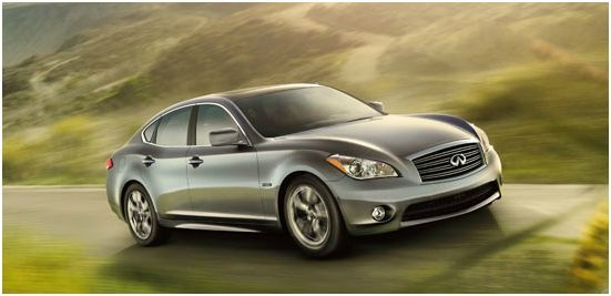 2012 INFINITI M Hybrid, Front quarter, exterior, manufacturer, gallery_worthy