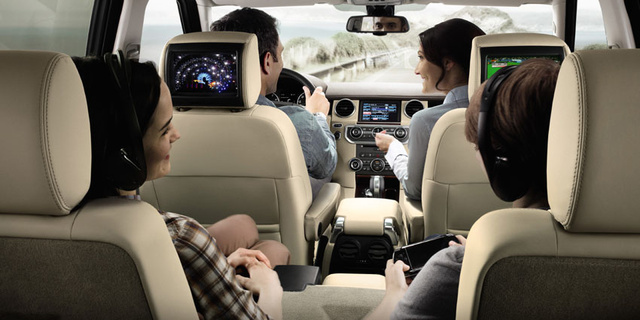 2012 Land Rover LR4, Interior Seating, Interior, Manufacturer,  Gallery_worthy