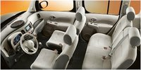 2012 Nissan Cube, Interior seating, interior, manufacturer