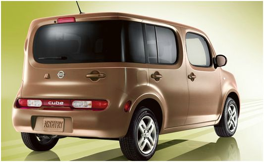 2012 Nissan Cube, Rear quarter, exterior, manufacturer