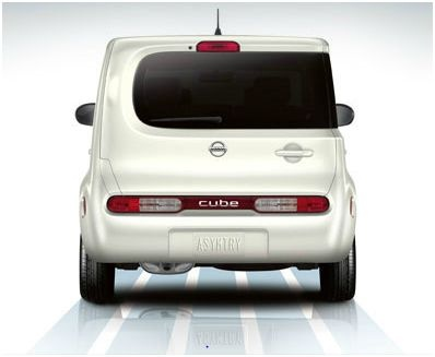 2012 Nissan Cube, Rear view, exterior, manufacturer