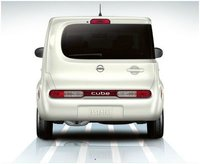 2012 Nissan Cube, Rear view, exterior, manufacturer, gallery_worthy