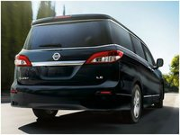 2012 Nissan Quest, rear view, manufacturer, exterior