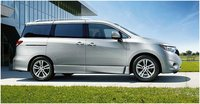2012 Nissan Quest, Side view, manufacturer, exterior