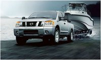 2012 Nissan Titan, Front view, exterior, manufacturer, gallery_worthy