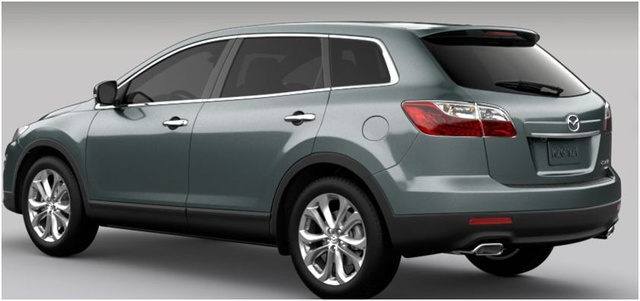 2012 Mazda CX-9, Rear quarter, exterior, manufacturer, gallery_worthy