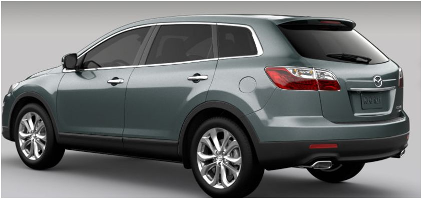 2012 Mazda CX-9, Rear quarter, manufacturer, exterior