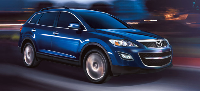 2012 Mazda CX-9, Front quarter, exterior, manufacturer, gallery_worthy