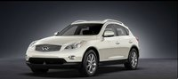 2012 INFINITI EX35, exterior front left quarter view , exterior, manufacturer, gallery_worthy
