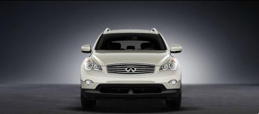 2012 Infiniti EX35, exterior front full view, exterior, manufacturer