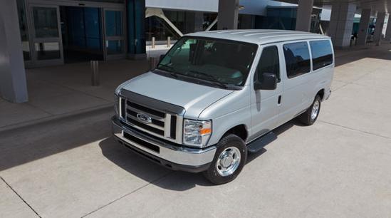 2012 Ford E-Series Passenger, Front quarter view. , exterior, interior, manufacturer