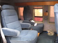 1991 Dodge Ram Van B150 Cargo RWD Kinda Stock Conversion Interior