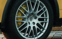 2012 Porsche Cayenne, Close-up of tire. , exterior, manufacturer