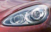 2012 Porsche Cayenne, Close-up of headlight. , exterior, manufacturer