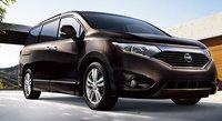 2012 Nissan Quest, Front quarter view. , exterior, manufacturer