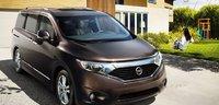 2012 Nissan Quest, Front View. , exterior, manufacturer