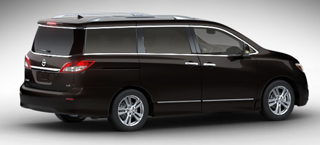 2012 Nissan Quest, Side View. , manufacturer, exterior