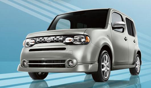 2012 Nissan Cube, Front quarter view. , exterior, manufacturer