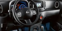 2012 Nissan Cube, Close-up of steering wheel. , interior, manufacturer