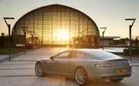 2012 Aston Martin Rapide, Back quarter view. , exterior, manufacturer