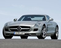 2012 Mercedes-Benz SLS-Class, Front quarter view copyright AOL Autos. , exterior