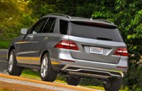 2012 Mercedes-Benz M-Class, Back quarter view., exterior, manufacturer, gallery_worthy