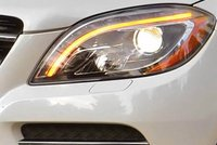 2012 Mercedes-Benz M-Class, Close-up of headlight. , manufacturer, exterior