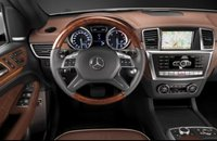 2012 Mercedes-Benz M-Class, Steering wheel. , interior, manufacturer