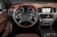 2012 Mercedes-Benz M-Class, Steering wheel. , interior, manufacturer