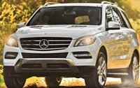 2012 Mercedes-Benz M-Class, Front quarter view. , manufacturer, exterior
