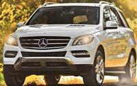2012 Mercedes-Benz M-Class, Front quarter view. , exterior, manufacturer