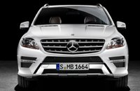 2012 Mercedes-Benz M-Class, Front View. , exterior, manufacturer, gallery_worthy