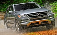 2012 Mercedes-Benz M-Class, Front quarter view. , exterior, manufacturer