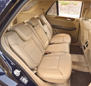 2012 Mercedes-Benz M-Class, Back Seat. , manufacturer, interior