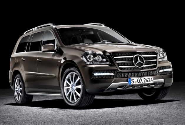2012 Mercedes-Benz GL-Class, Front quarter view. , exterior, manufacturer