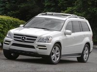 2012 Mercedes-Benz GL-Class, Front quarter view copyright AOL Autos. , exterior, manufacturer