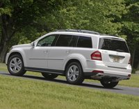 2012 Mercedes-Benz GL-Class, Back quarter view copyright AOL Autos. , exterior, manufacturer