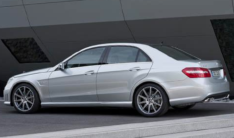 2012 Mercedes-Benz E-Class, Side View., exterior, manufacturer