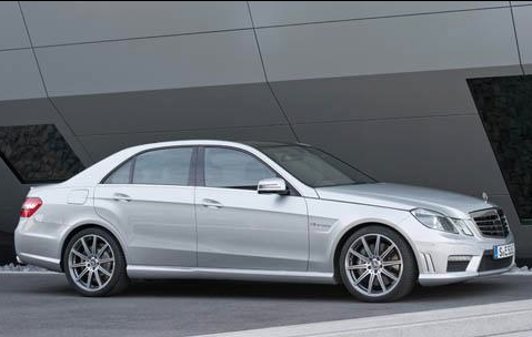 2012 Mercedes-Benz E-Class, Side View. , exterior, manufacturer