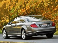 2012 Mercedes-Benz CL-Class, Back quarter view copyright AOL Autos. , manufacturer, exterior