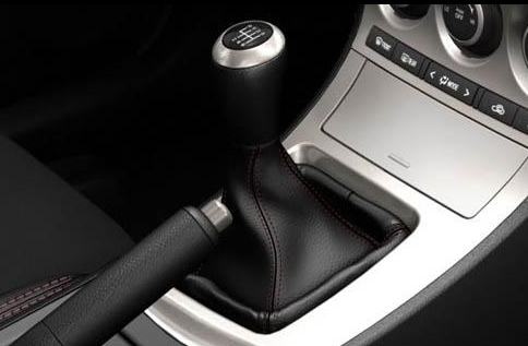 2012 Mazda MAZDASPEED3, Shift Stick. , interior, manufacturer
