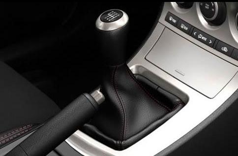 2012 Mazda MAZDASPEED3, Shift Stick. , interior, manufacturer