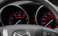 2012 Mazda MAZDASPEED3, Close-up of instruments. , interior, manufacturer