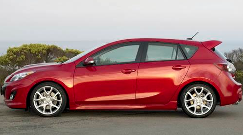 2012 Mazda MAZDASPEED3, Side View. , manufacturer, exterior