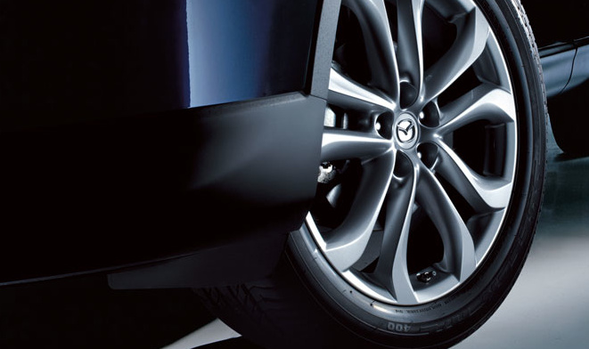2012 Mazda CX-9, Close-up of tire. , manufacturer, exterior