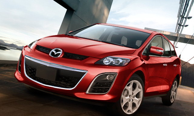2012 Mazda CX-7, Front quarter view., exterior, manufacturer