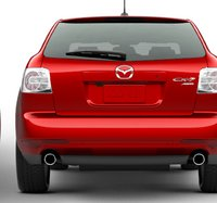 2012 Mazda CX-7, Back View. , exterior, manufacturer, gallery_worthy